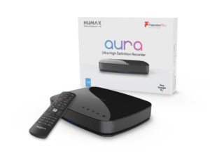 AURA 4K Freeview Play Recorder powered by Android TVHumax